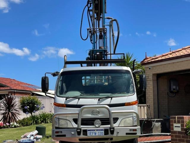 Aquarian Drilling Perth Water Bores & Pumps Drilling new water bore in Scarborough