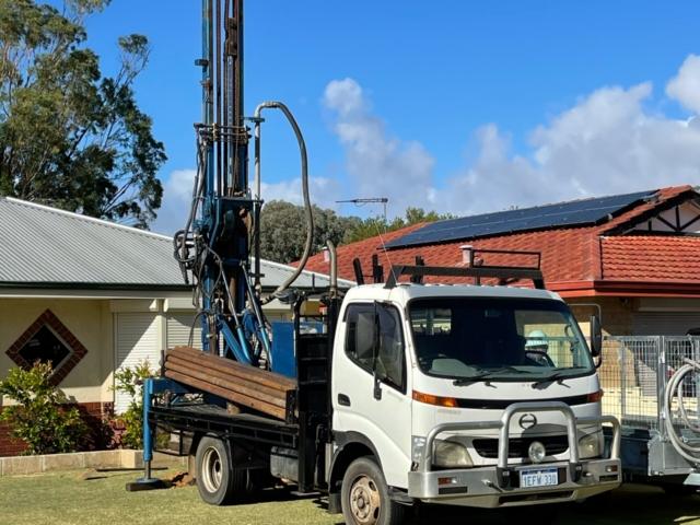 Aquarian Drilling Perth Water Bores & Pumps Drilling new water bore in Ballajura