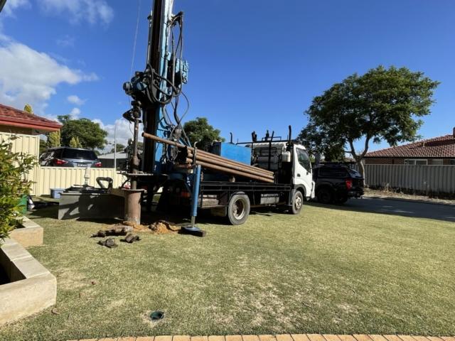 Aquarian Drilling Perth Water Bores & Pumps Drilling new water bore in Beldon