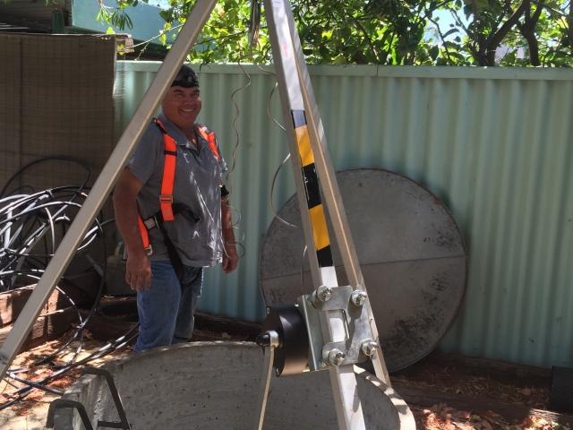 Bore repairs deep well Menora