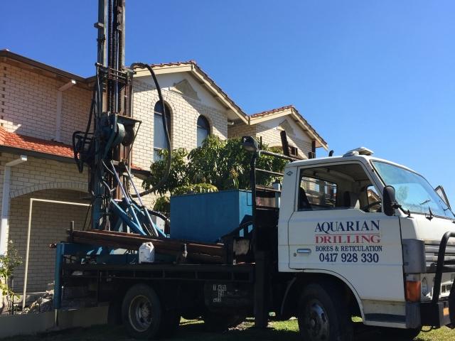 Drilling new water bore in Balcatta