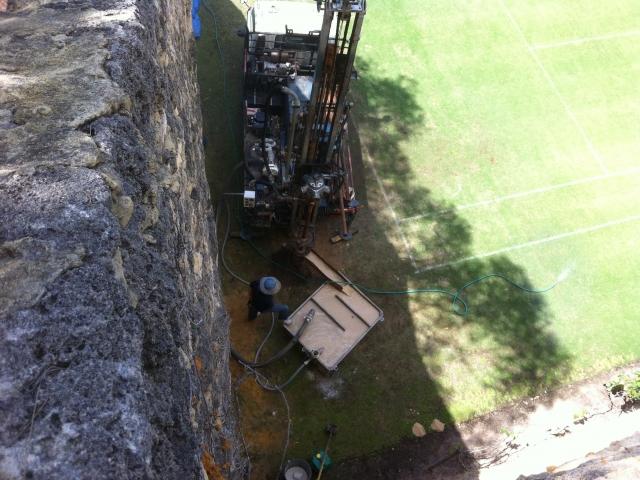Drilling new bore in Mosman Park