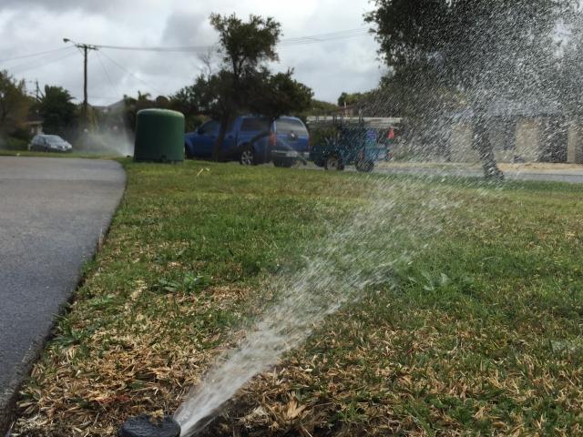 Sprinkler repairs Warwick