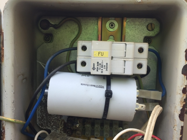 Aquarian Drilling Perth Water Bores & Pumps Bore repairs - Lowara start box capacitor replacement Ballajura