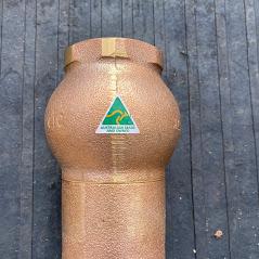 Brass Australian Made Alderdice Check valve 50 mm