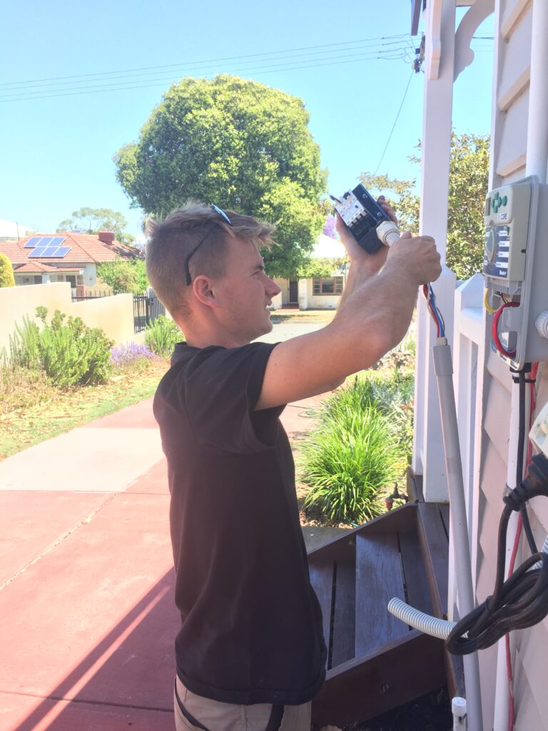 Manual Water Bore Automation Eden Hill