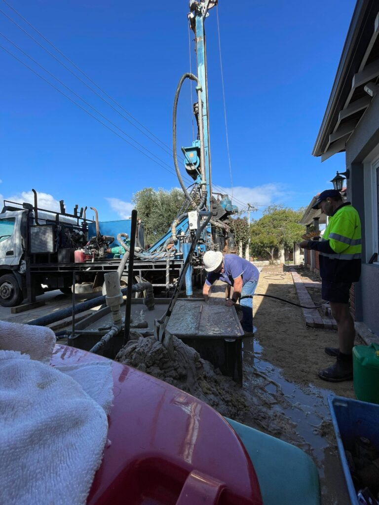 Drilling New Bore Bayswater
