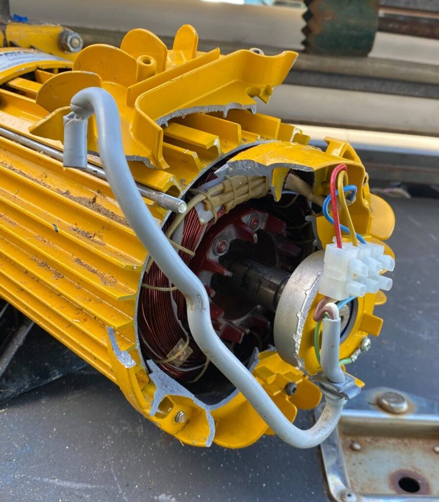 Davey Dynaflow pump destroyed by non licensed contractor