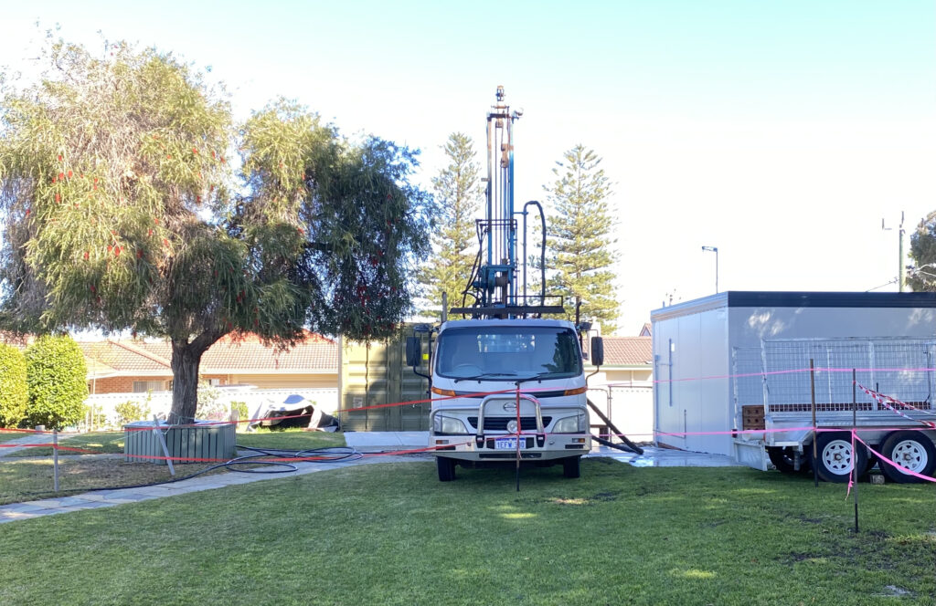 Drilling rig new bore Balcatta 1