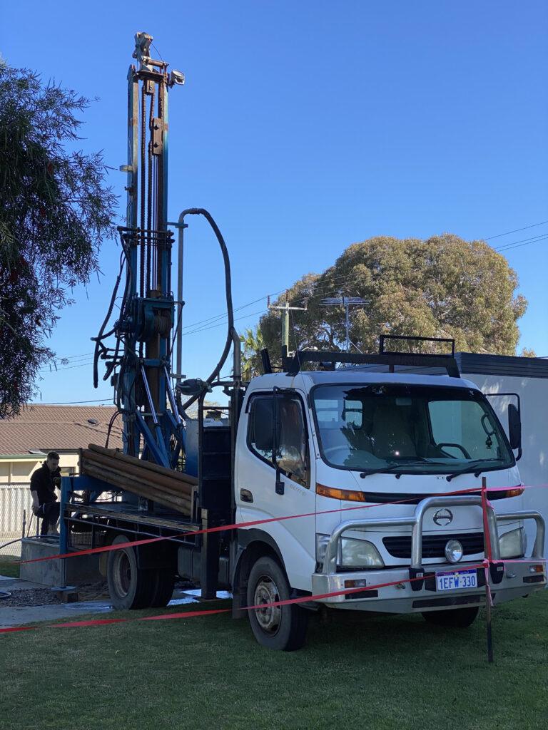 Drilling rig new bore Balcatta