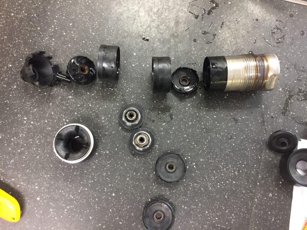 Destroyed Grundfos sq pump